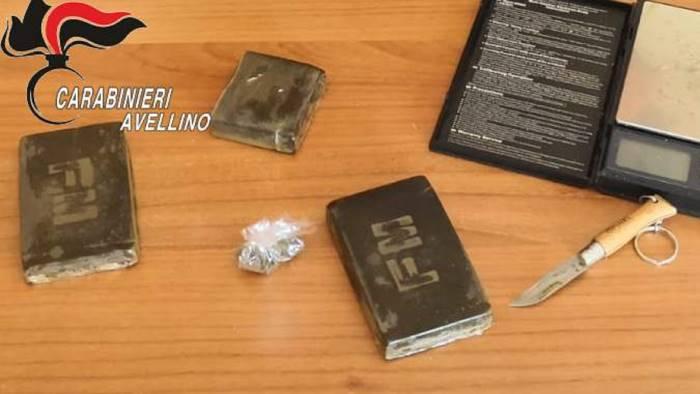 droga nella mercedes arrestato un 43enne di s sossio baronia