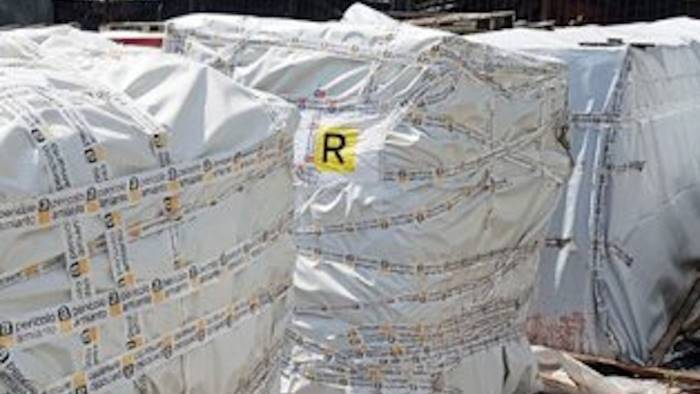 isochimica rimossi gli ultimi cubi di amianto