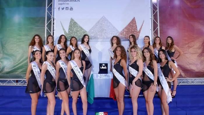a maddaloni la finale di miss italia campania