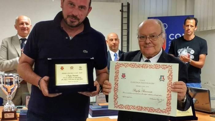 al benevento rugby il prestigioso premio c i a r