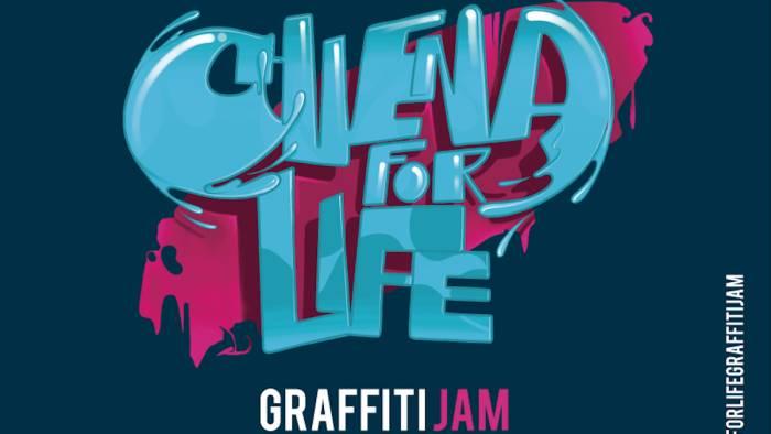 nasce chiena for life graffiti jam l evento per il sociale