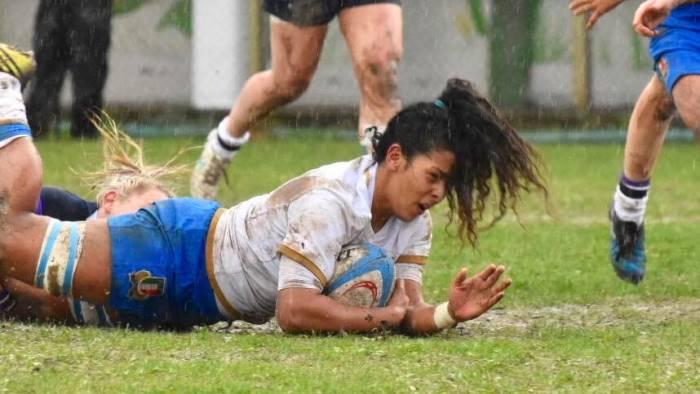 rugby la salernitana giada franco vola in inghilterra