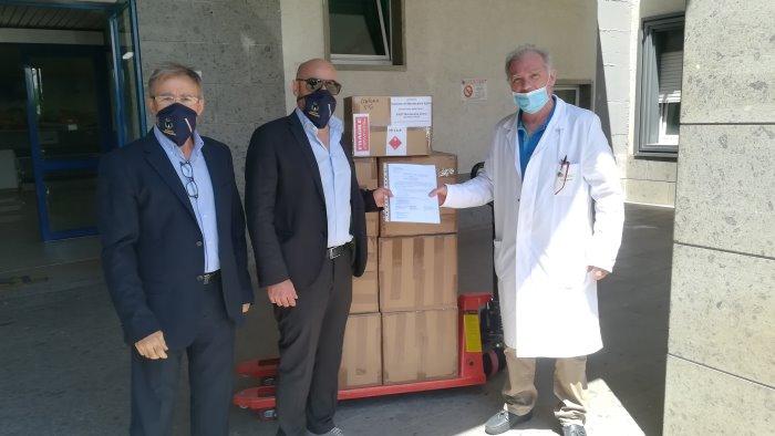 dalla svizzera ad ariano nuovi aiuti per il frangipane