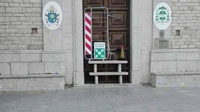 nuovo atto di vandalismo contro il santuario di carpignano