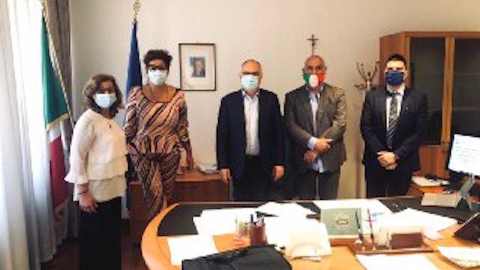 conducenti turistici delegazione campana al ministero