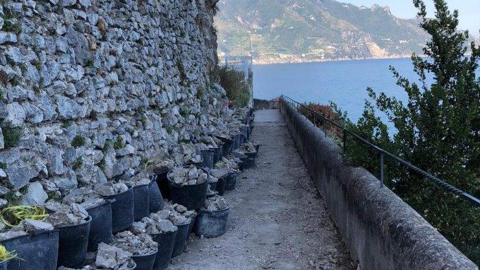 Amalfi: lavori al quartiere Sant'Antonio - Ottopagine.it Salerno