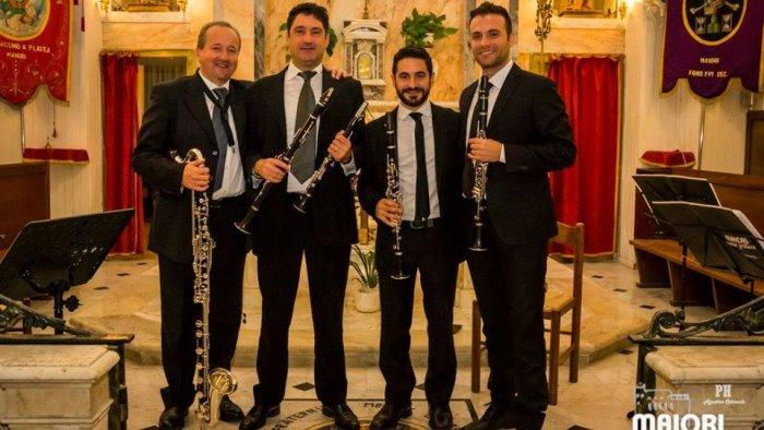 Amalfi Coast Clarinet Quartet in scena a Maiori Music Festival ...