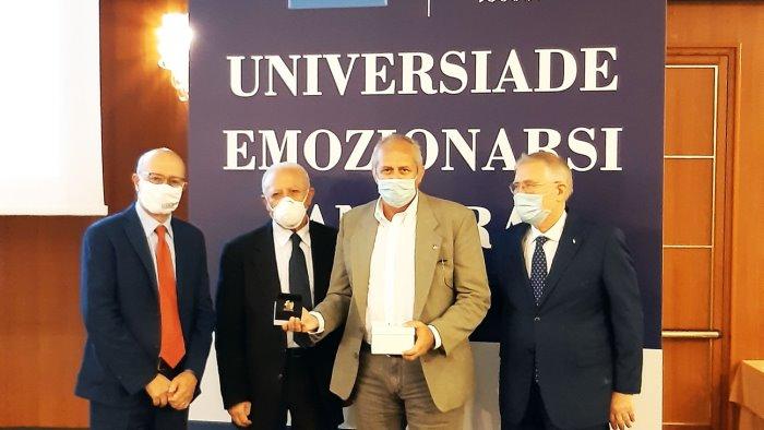universiadi celebrato il primo anniversario