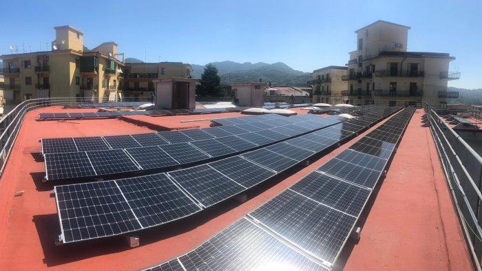 cava green valley 170mila euro per un impianto fotovoltaico