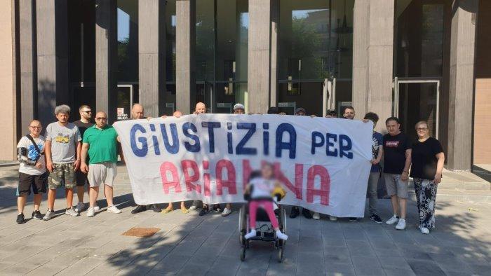 giustizia per arianna sciopero della fame dei genitori