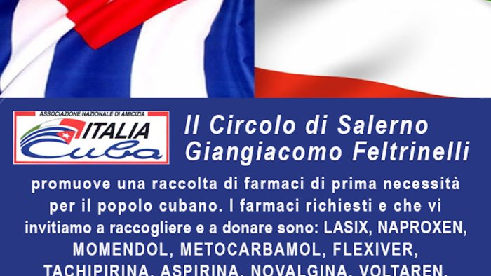 aiutiamo il popolo cubano cava si mobilita per l isola