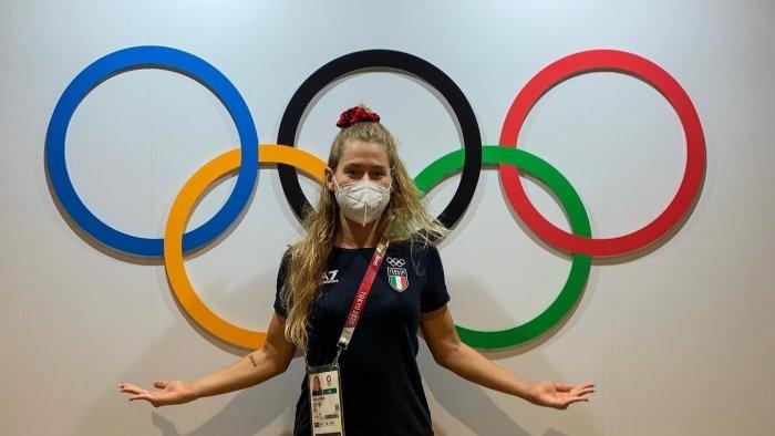 olimpiadi una sannita alla cerimonia inaugurale