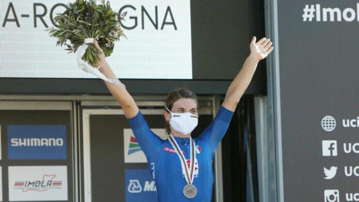 sport longo borghini vince bronzo olimpico a tokyo