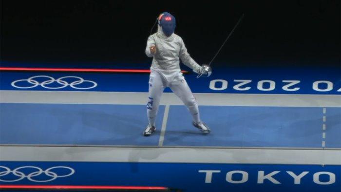 olimpiadi scherma gregorio eliminata al primo turno