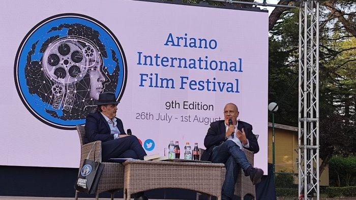 federico moccia conquista l ariano film festival