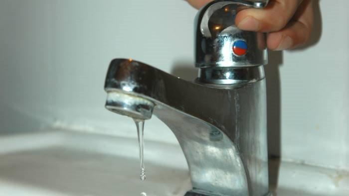 sospensione idrica a montoro le frazioni interessate