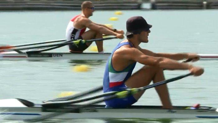 olimpiadi canottaggio per di mauro solo la finale b