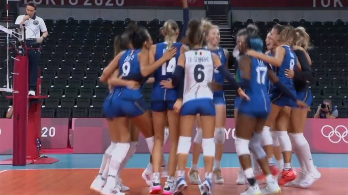 olimpiadi volley azzurre travolgenti anche con l argentina