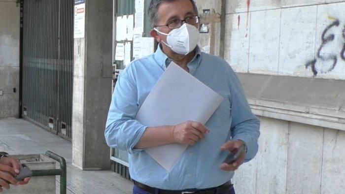 mazza consegna il dossier sull inquinamento al procuratore airoma