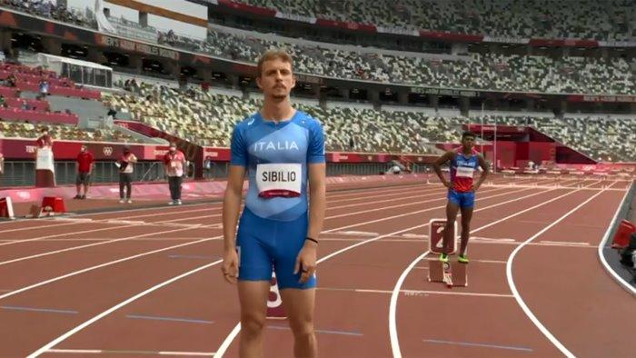 olimpiadi atletica nei 400 hs sibilio corre da veterano e va in semifinale