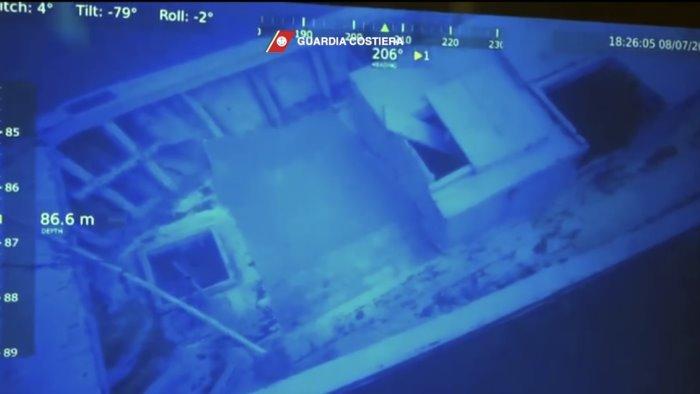 robot individua relitto naufragio lampedusa trovati 9 cadaveri migranti