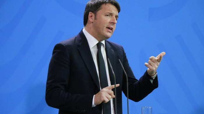 Renzi alla Versiliana, Immigrazione e politica internazionale