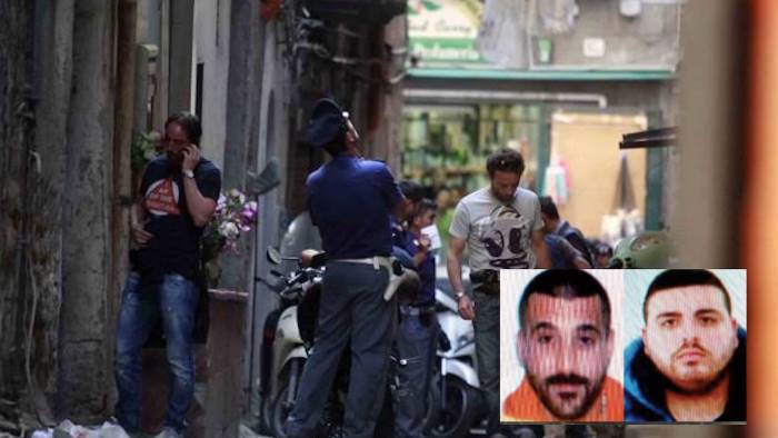 Napoli, sparatoria nel centro storico: morti due pregiudicati. Un ferito