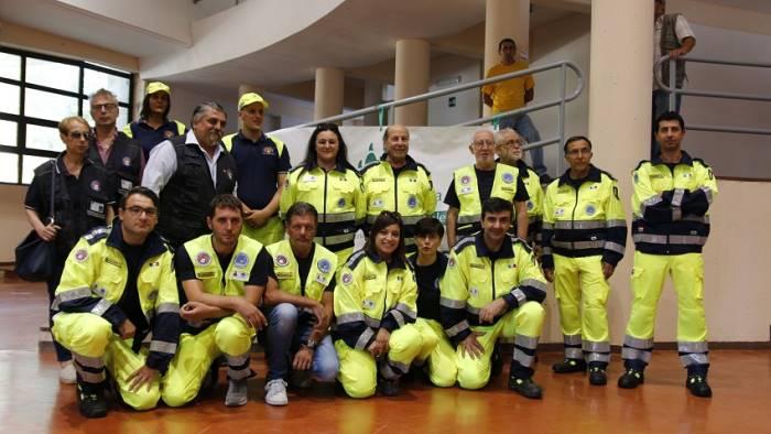 bisaccia presentato il gruppo comunale di protezione civile