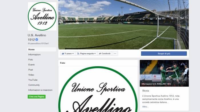 calcio avellino e gia questione stadio intanto il logo