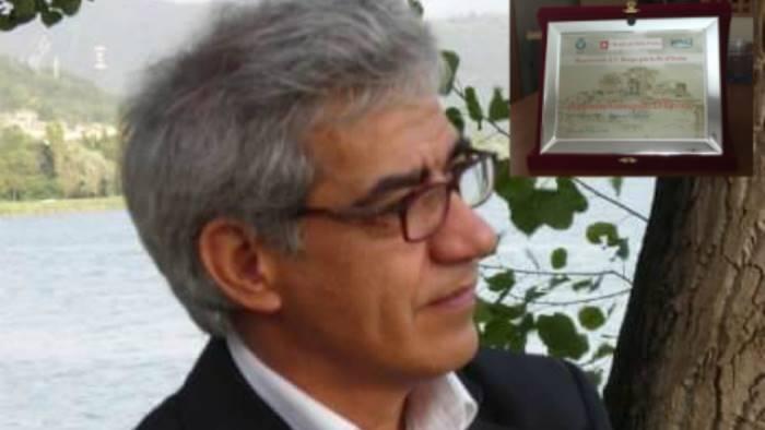 monteverde premiato lo scrittore antonio gerardo d errico