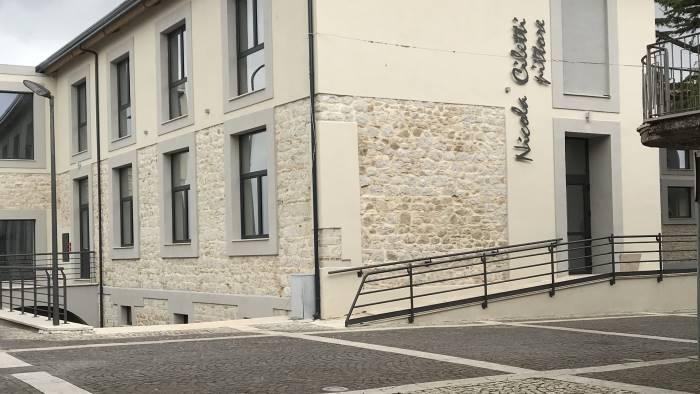chiusa dal 2002 causa terremoto riapre la scuola ciletti