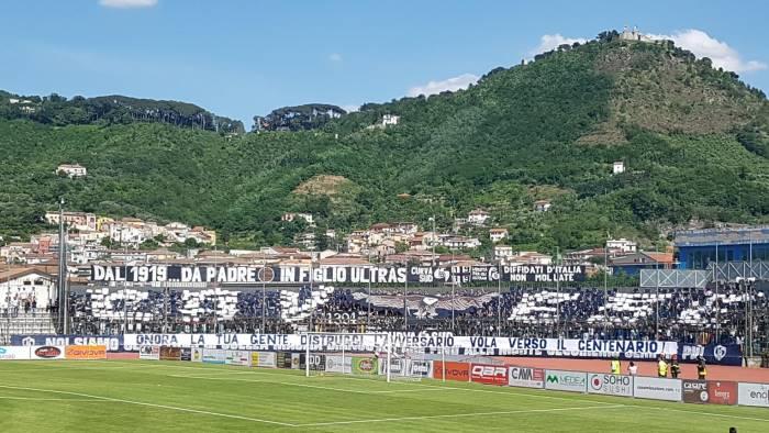 cava stanziati 400mila euro per ammodernare lo stadio
