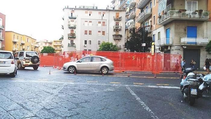 vomero arenella no ai parcheggi privati su suolo pubblico