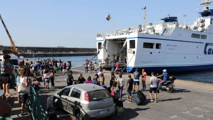 ischia week end da record 75mila tra arrivi e partenze