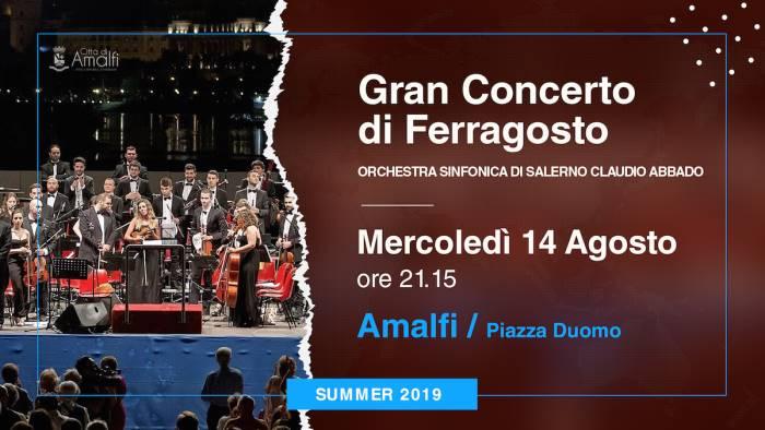 amalfi domani il gran concerto di ferragosto