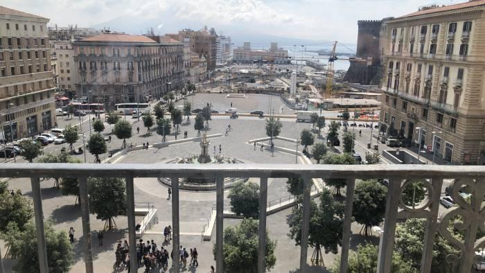 napoli e il terzo porto in italia per numero di croceristi