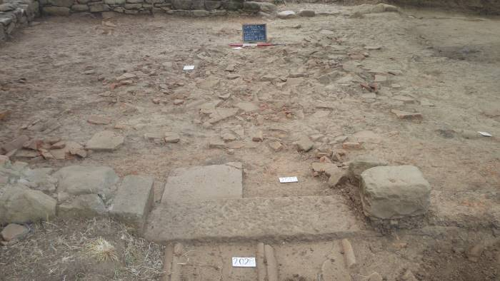 riemerge a caselle in pittari un abitato del iv secolo