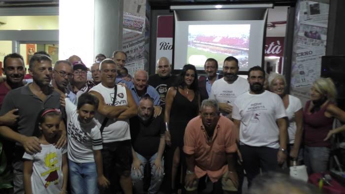 foto festa a pontecagnano per il club granata rione podesta