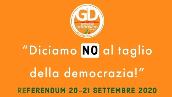 referendum gd irpinia no al taglio della democrazia