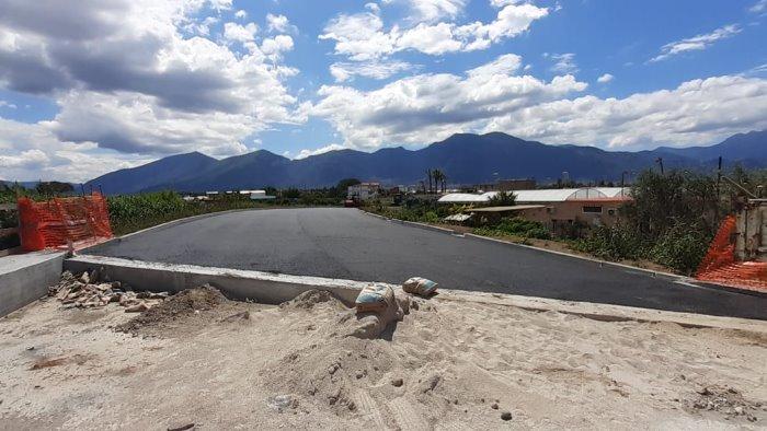 asfaltata la bretella sul ponte rio sguazzatoio