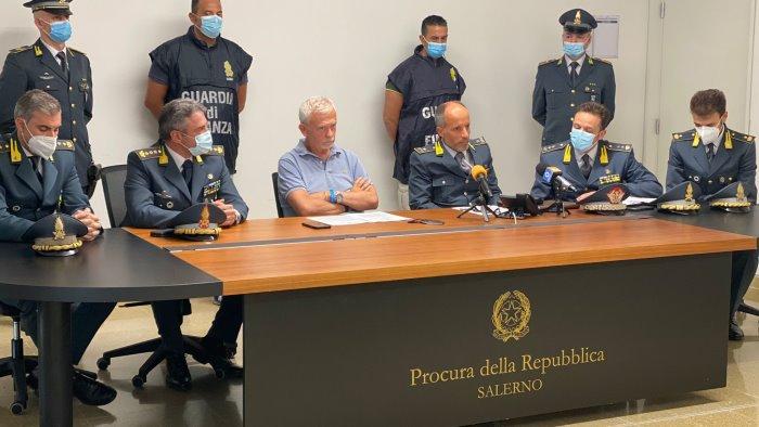 la droga del combattente al porto di salerno dopo il maxi sequestro 2 arresti