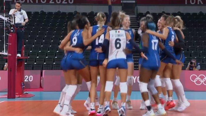 olimpiadi l italvolley di chirichella e de gennaro eliminata dalla serbia