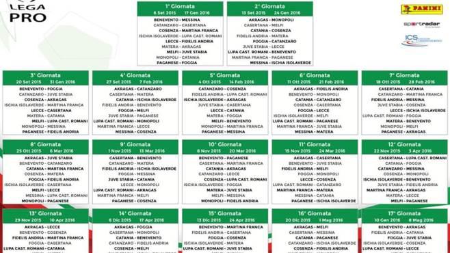 Calendario Lega Pro Girone C.Girone C Ecco Il Calendario Ufficiale Ottopagine It Benevento