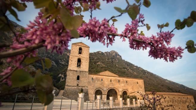 madonna del taburno inaugurato monumento dedicato ad agnese