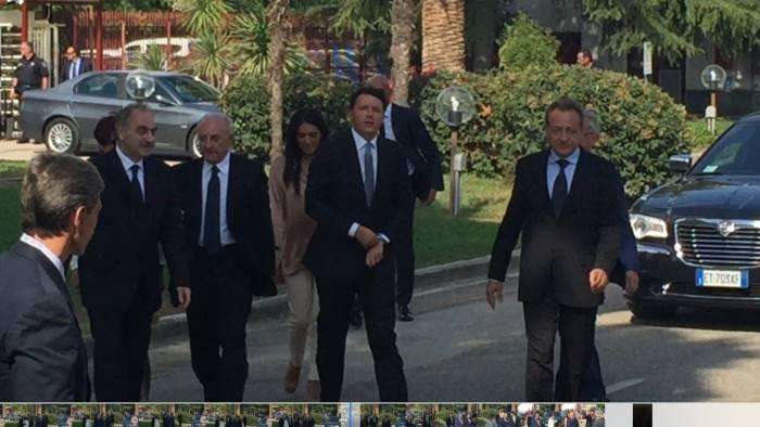 Campania, Matteo Renzi: