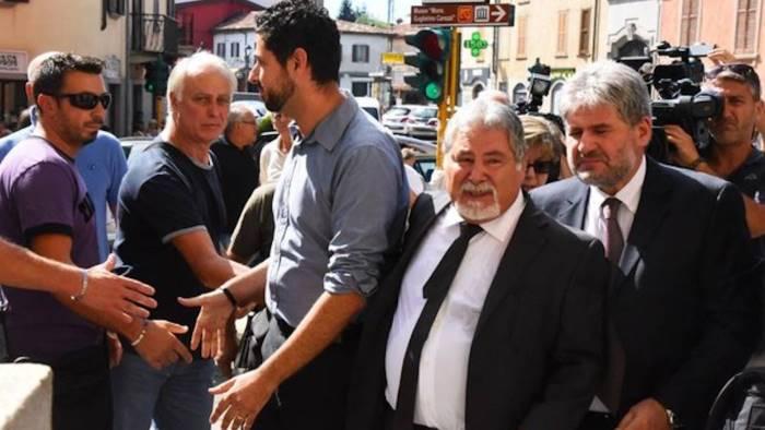 Seriate, chiesa gremita ai funerali di Gianna Del Gaudio