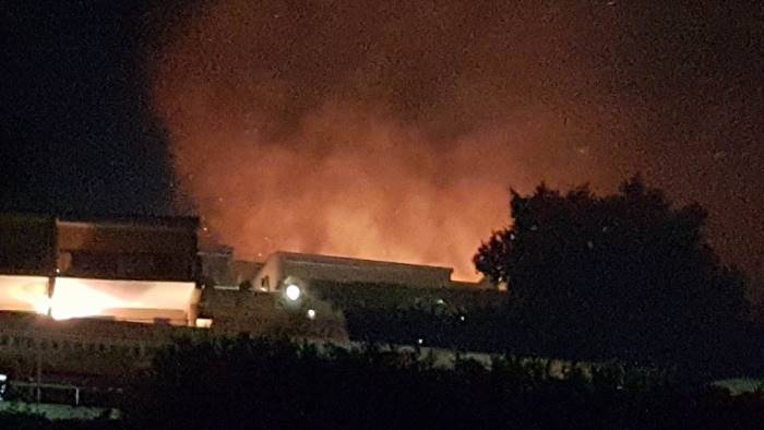 incendio a policastro treni bloccati nel cilento