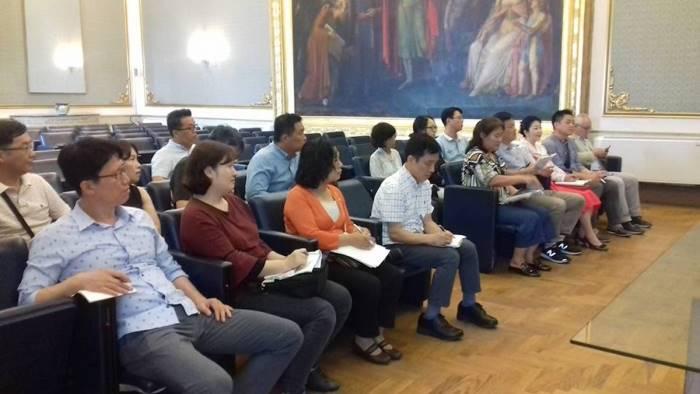 politiche del lavoro in provincia una delegazione sudcoreana