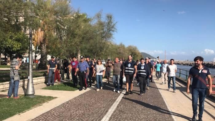 manifestazione di noi con salvini nessun militante fermato