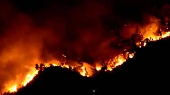 incendio dei colli tifatini zinzi interroga la regione